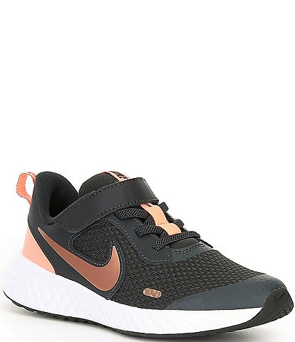 Nike Girls' Revolution 5 PSV Running Shoes (Youth)