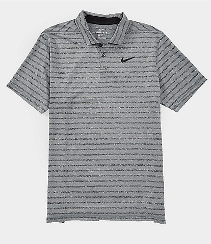 Nike Golf Dri-FIT Vapor Striped Short-Sleeve Polo