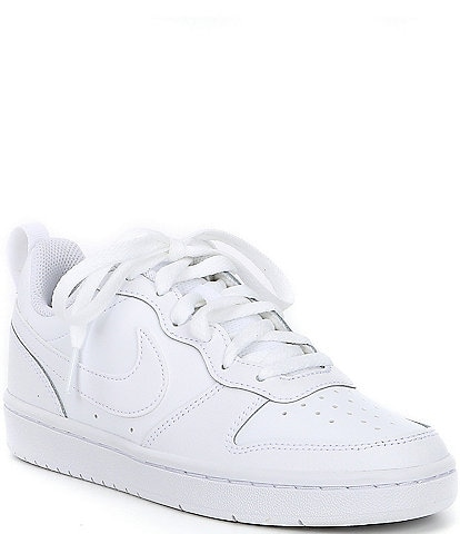Nike Kids' Court Borough Low 2 Lifestyle Shoes (Youth)