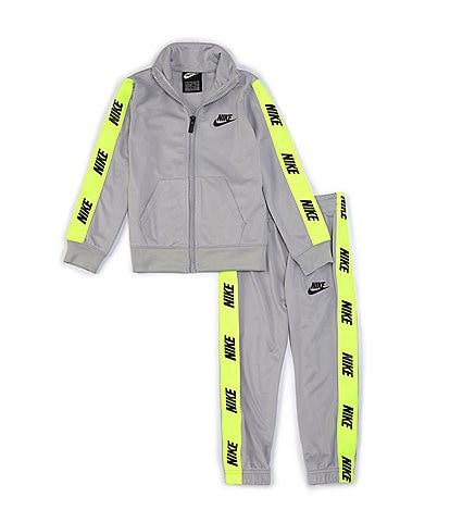 Nike Little Boys 2T-7 Logo-Taping Jacket & Jogger Pant Tricot Set
