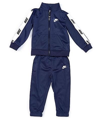 Nike Little Boys 2T-7 Logo-Taping Jacket & Jogger Pant Tricot Set