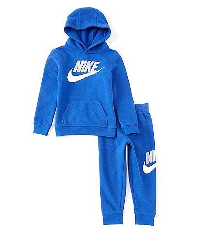 Nike Little Boys 2T-7 Logo Fleece Hoodie & Jogger Pant Set