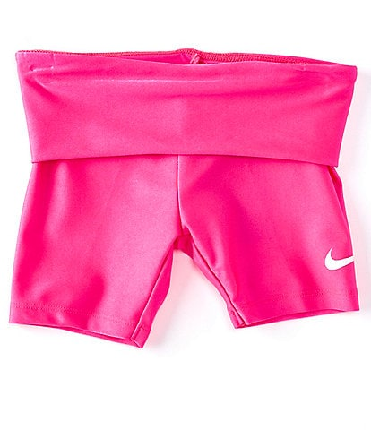 Nike Little Girls 2T-6X High-Waist Convertible Bike Shorts