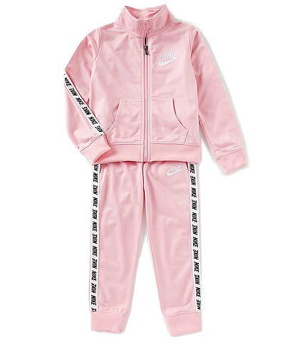 Nike Little Girls 2T-6X Logo Track Jacket & Pant Set