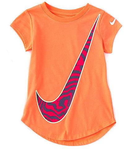 Nike Little Girls 2T-6X Short-Sleeve Victory Swoosh Graphic Tee