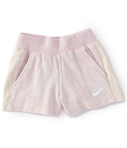 Nike Little Girls 4-6X French Terry Shorts