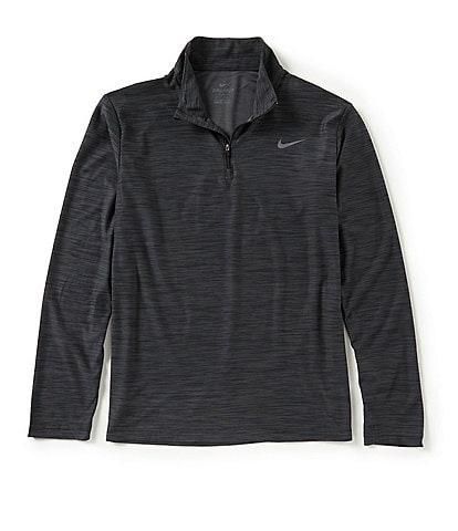 Nike Long-Sleeve Breathe Quarter Zip Training Top