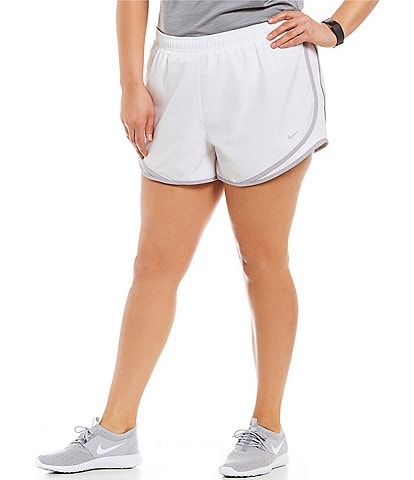 Nike Plus Size Sweat Wicking Lightweight Tempo Running Shorts