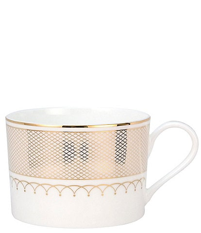 Nikko Lattice Gold Bone China Teacup