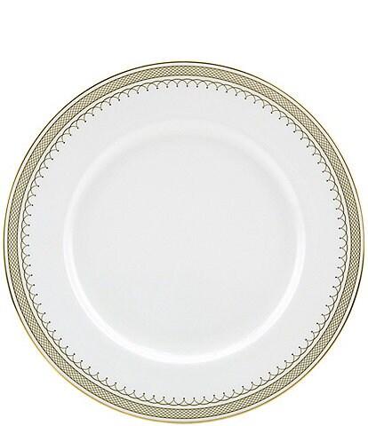 Nikko Lattice Gold Dinner Plate