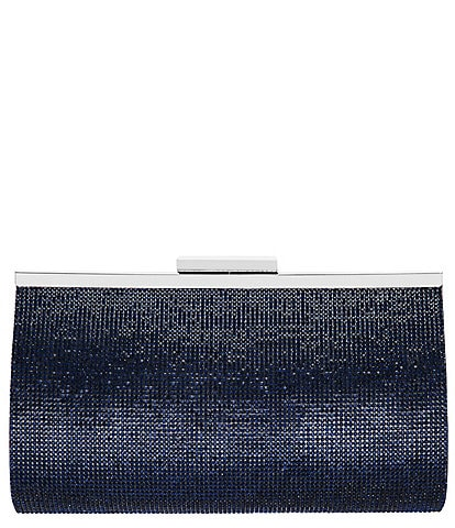 Nina Crystal Beaded Frame Clutch