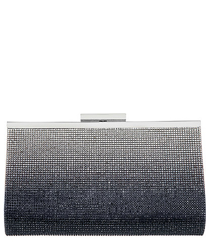 Nina Crystal Frame Clutch