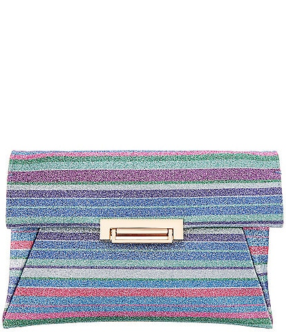 Nina Glitter Envelope Clutch Bag