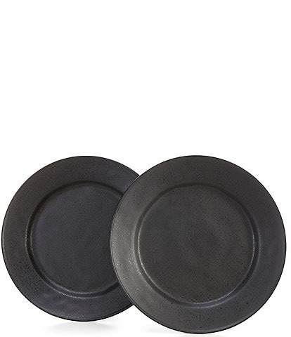 Noble Excellence Astoria Collection Matte Glazed Dinner Plates, Set of 2