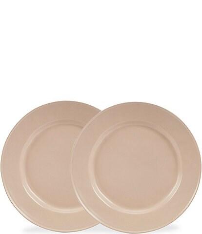 Noble Excellence Astoria Collection Matte Glazed Salad Plates, Set of 2