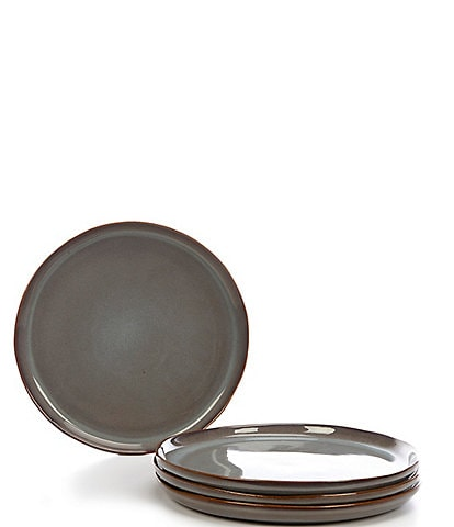Noble Excellence Aurora Collection Glazed Salad Plates, Set of 4
