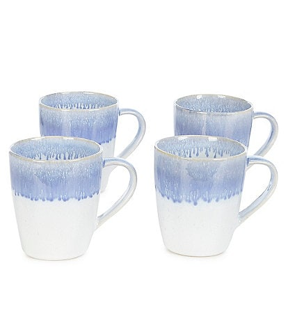Noble Excellence Luna Reactive Coffee Mugs, Set of 4