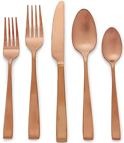Noble Excellence Nova PVD Stainless Steel 20-Piece Flatware Set