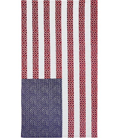 Noble Excellence Outdoor Living Collection American Flag Beach Towel