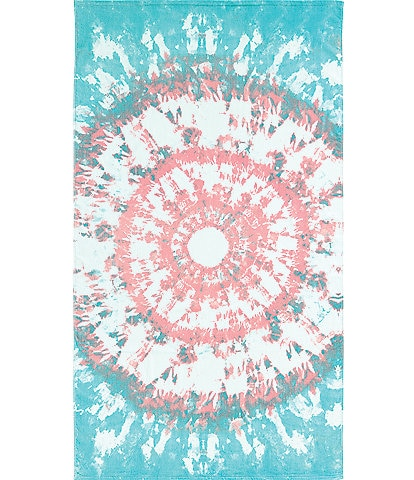 Noble Excellence Outdoor Living Collection Tie Dye Beach Towel