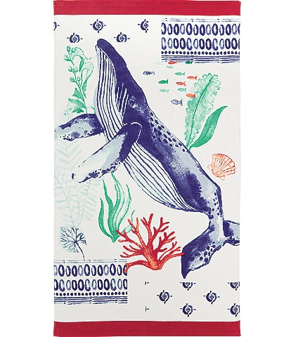 Noble Excellence Outdoor Living Collection Whale Beach Towel