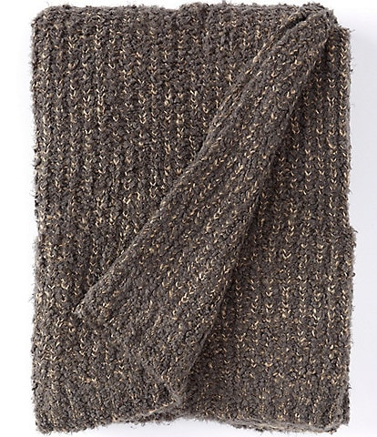 Noble Excellence Warm Shop Collection Riley Knit Throw