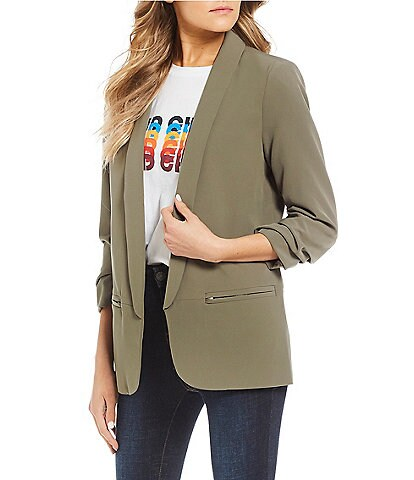 Noisy May Olivia 3/4 Sleeve Blazer