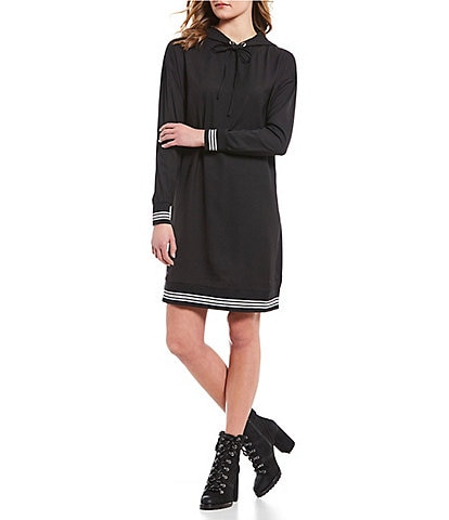 Noisy May Sarah Long-Sleeve Hoodie Dress