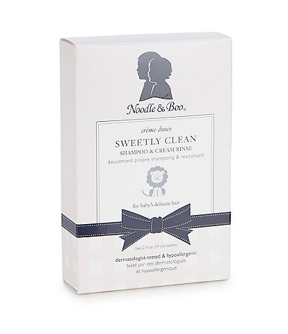 Noodle & Boo Sweetly Clean Shampoo & Cream Rinse Travel Kit