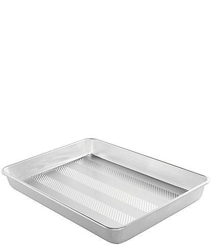 Nordic Ware Prism High-Sided Sheet Cake Pan, Metallic