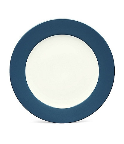 Noritake Colorwave Coupe Matte & Glossy Stoneware Rimmed Round Platter