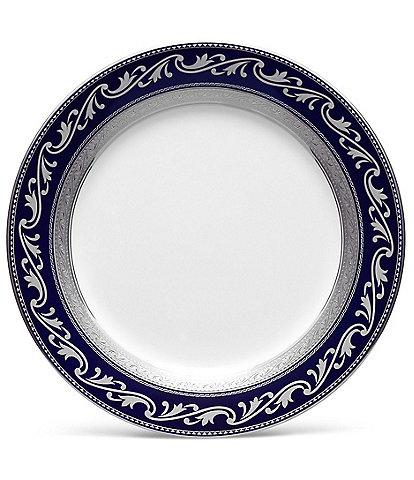 Noritake Crestwood Cobalt Platinum Accent Salad Plate