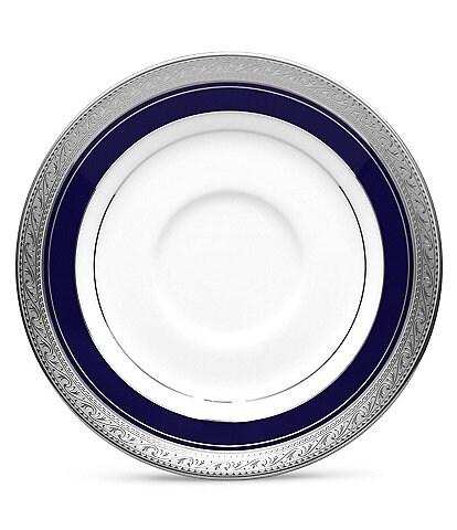 Noritake Crestwood Cobalt Platinum Saucer