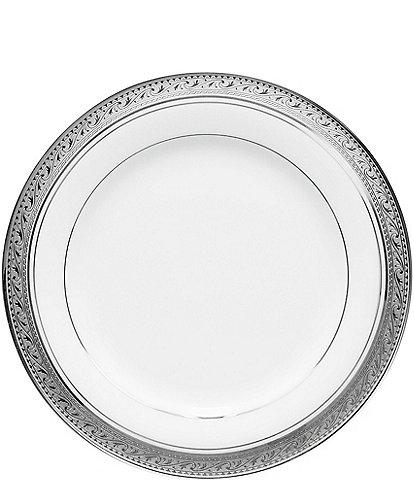 Noritake Crestwood Etched Platinum Porcelain Bread & Butter Plate
