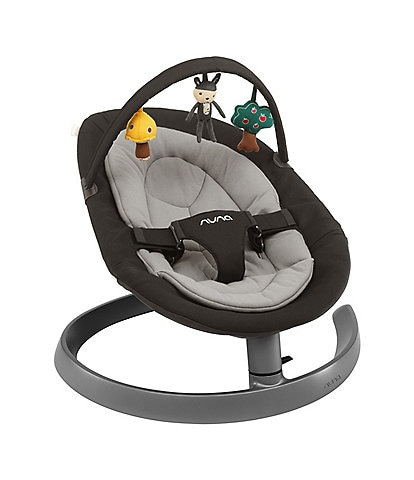 Nuna Leaf Dusk Baby Lounger Chair with Toy Bar