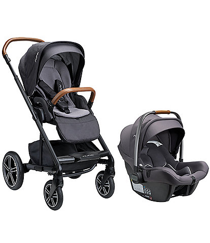 Nuna Mixx Next Stroller without Magnetic Buckle + Pipa Lite R Infant Car Seat Travel System