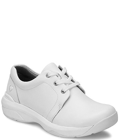 Nurse Mates Corby Leather Sneakers