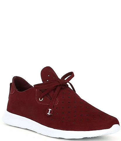Nurture Jaquee Perforated Suede Sneakers