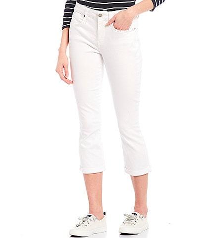 NYDJ Chloe Cuffed Capri Jeans