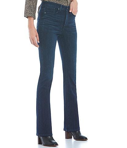 NYDJ High Rise Slim Leg Stretch Bootcut Jeans