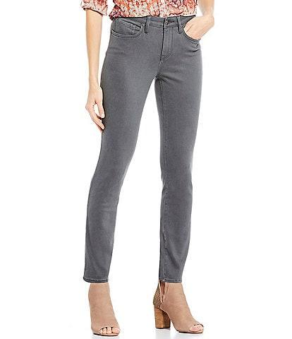 NYDJ Petite Size Alina Skinny Ankle Jeans