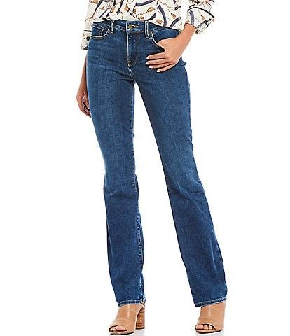 NYDJ Petite Size Marilyn Straight Leg Jeans