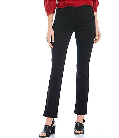 NYDJ Petite Size Marilyn Ponte Straight Leg Pants