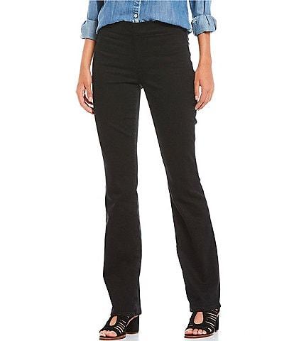 NYDJ Petite Size Marilyn Straight Leg Pull-On Jeans