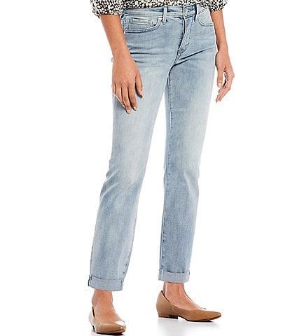 NYDJ Petite Size Sheri Slim Ankle Jeans