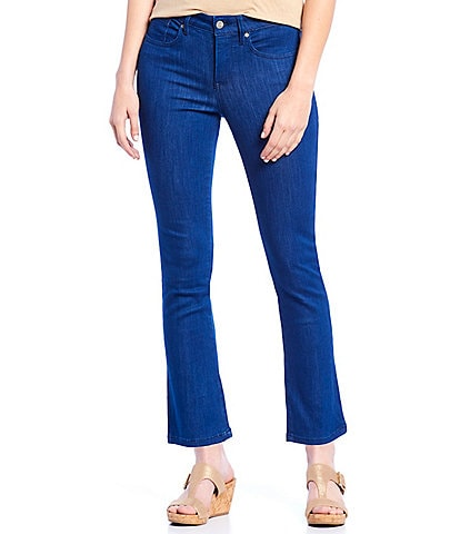 18761603ad1a7 NYDJ Petite Size Sheri Slim Ankle Jeans