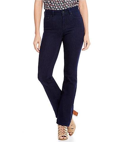 NYDJ Petites Marilyn Straight-Leg Tonal Stitch Jeans