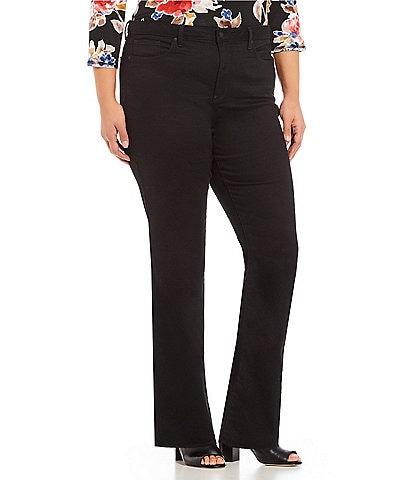 NYDJ Plus Size Barbara Bootcut Jeans