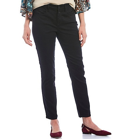 NYDJ Sheri Slim Double Button Fly Ankle Jeans