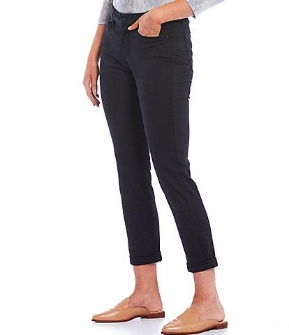 NYDJ Sheri Slim Roll-Cuff Ankle Jeans